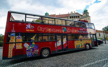 Krakow Hop-On Hop-Off Bus: 24 or 48-Hour Ticket
