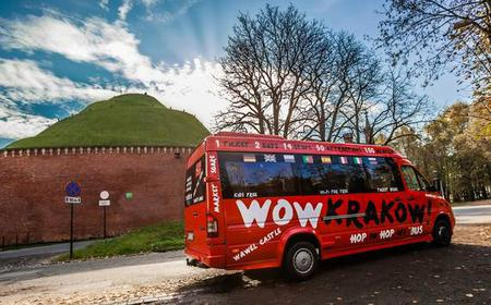 Krakow: Hop-On Hop-Off Sightseeing Bus Ticket