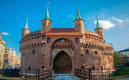 Krakow: Electric Car Essential City Tour