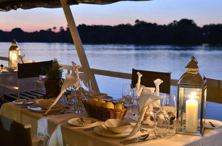 Dinner Cruise on the Zambezi River