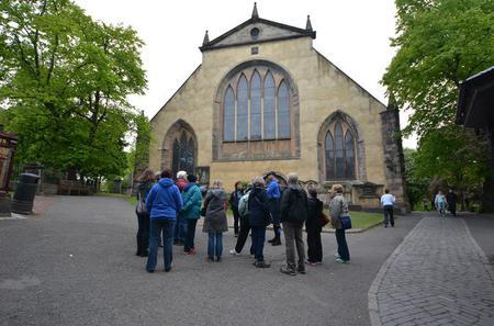 Greyfriars Kirkyard Projector Tour in Edinburgh
