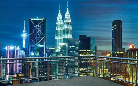 Night Tour of Petronas Twin Towers, Kuala Lumpur
