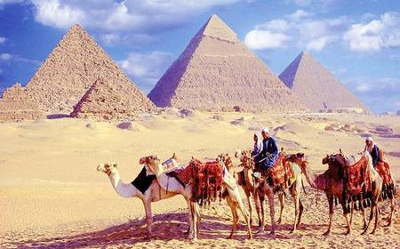 Cairo Sightseeing & Shopping: 2-Day Tour by Plane from Dahab