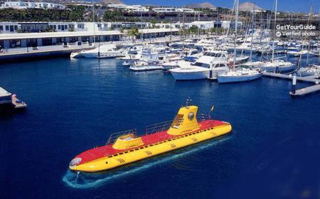 """Lanzarote: 1-Hour """"Sub Fun Tres"""" Submarine Dive"""