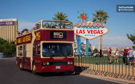 Las Vegas Hop-On and Hop-Off Bus Ticket 24/48 Hours