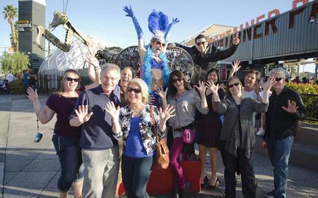 Las Vegas Comedy Scavenger Hunt, Downtown Tour & Dinner