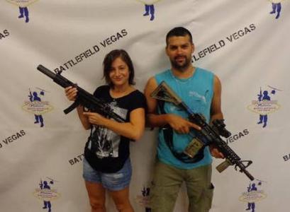 Las Vegas Firearms Shooting Beginner's Adventure