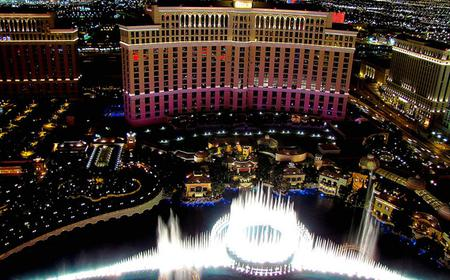 Helicopter Flight Over The Las Vegas Strip