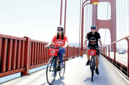 Guided Bike Tour Across the Golden Gate Bridge