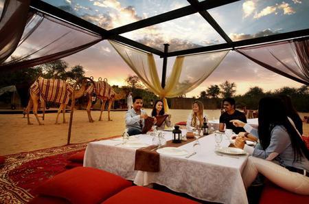 All-inclusive Overnight Safari for two in the Dubai Desert Conservation Reserve