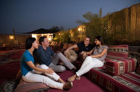 Sundowner Dune Dinner Safari with Soft Drinks in the Dubai Desert Conservation Reserve