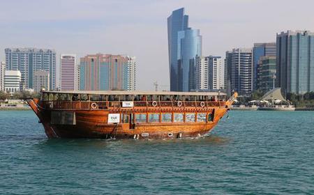 Abu Dhabi: Dhow Cruise Marina Sightseeing Tour