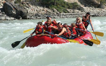Jasper National Park Family Friendly Rafting Adventure