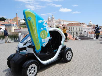 Lisbon Tram 28 Tour by an Electric Car with GPS Audio Guide