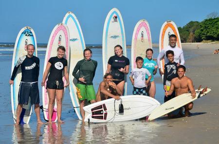 El Sunzal Private Surf Lesson