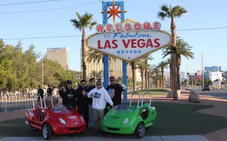Las Vegas Strip & Downtown Vegas Scootercar Tour