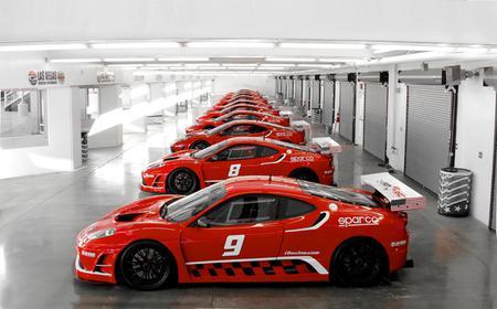 Ferrari Race Car Drive at Las Vegas Motor Speedway