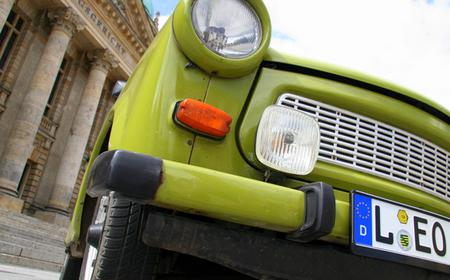 Private 2-Hour Trabi City Tour of Leipzig