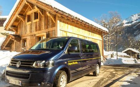 Private Transfer between Geneva Airport & Val Thorens