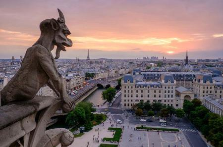 Paris Islands Tour With Skip the Line Entrances and Rooftop Afternoon Tea