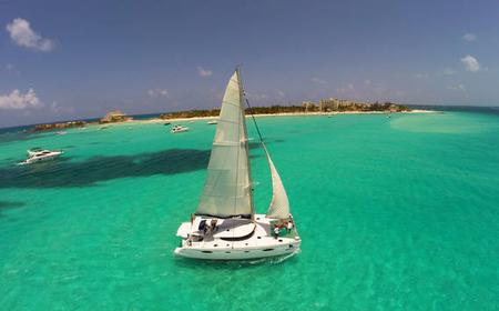 From Cancun: 2-Day Xcaret & Isla Mujeres by Catamaran