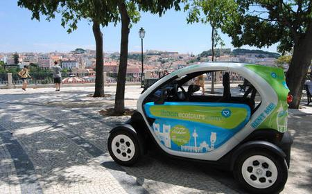 Lisbon Downtown 2-Hour Tour in an Electric Car with GPS