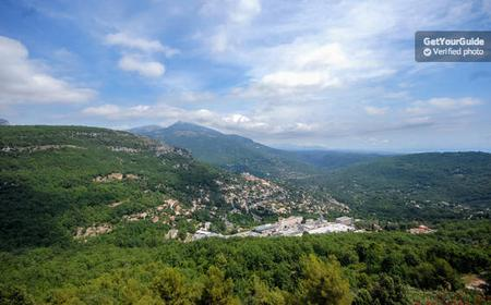 Grasse, Valbonne & Gourdon: Day Tour with Wine Tasting
