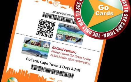 GoCard: Cape Town Explore 6 Attractions