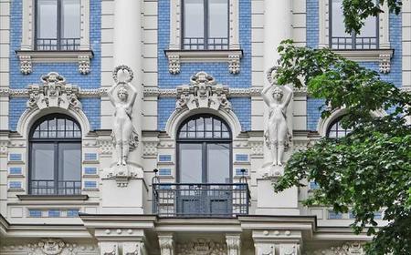 Private 2-Hour Riga Pearl of Art Nouveau Tour