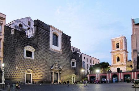 Napoli Art and Food Tour: Gesù Nuovo, Santa Chiara, San Domenico Maggiore