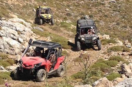Off Road Buggy Adventure in Crete
