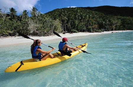 Dominica Shore Excursion: River to Ocean Kayaking Adventure