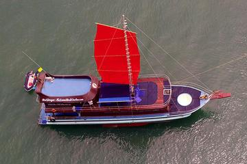 Private Charter: Red Dragon Junk Sail Yacht 75f for Island Hopping and Snorkeling to Koh Taen