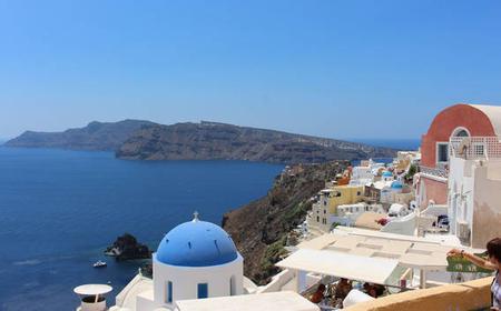 Santorini: Evening Cruise to Caldera