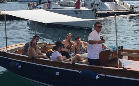 Semi Private Costiera Boat Tour