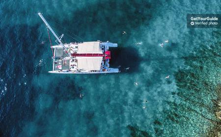 Full-Day Catamaran Cruise to Hvar & Pakleni island