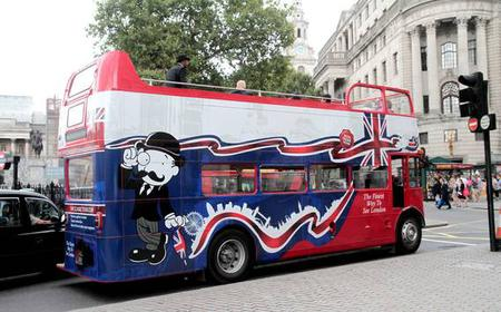 London Open-Top Vintage Bus Tour