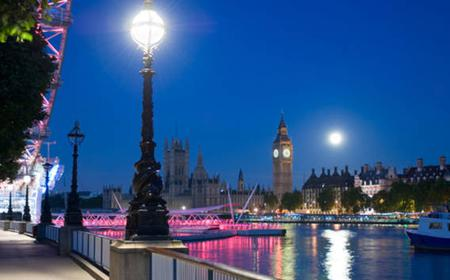 London by Night Open-Top Bus Tour