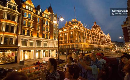 London by Night: 90-Minute Open Top Bus Tour