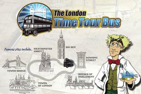 The London Time Tour Bus