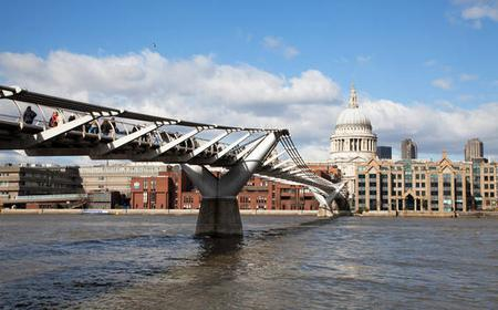 London: South Bank 3-Hour Walking Tour and River Cruise