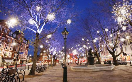 London Christmas Lights Bike Tour
