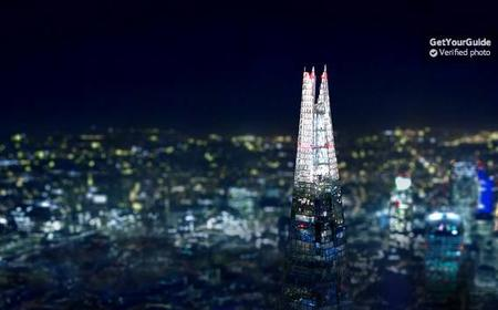 View from The Shard: Entrance Tickets