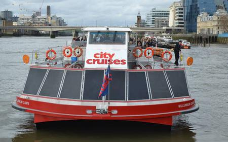 London: Thames Cruise and Royal Observatory Entry Fee