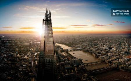 View from The Shard: Day and Night Entry