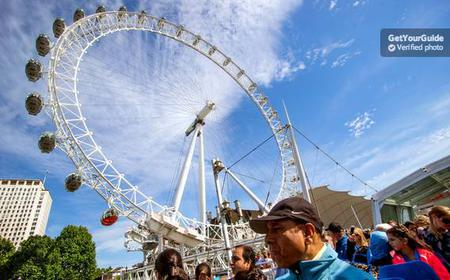 London Hop-on Hop-off Cruise and London Eye Ticket