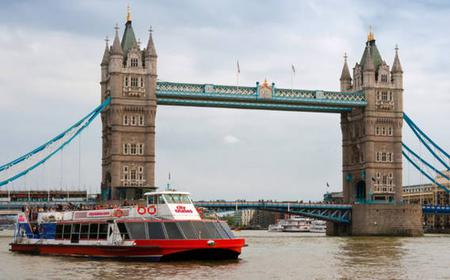 River Thames Lunch Cruise and Tower of London Ticket
