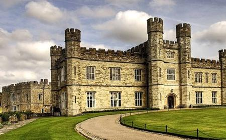 Leeds Castle, Canterbury, Dover, Greenwich from London