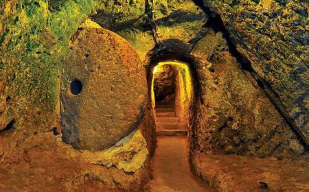Derinkuyu Underground City & Ihlara Valley Hiking Tour