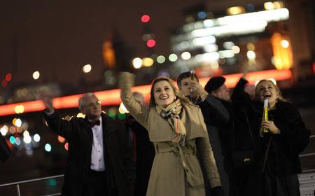 Festive London New Year's Eve 4-Course Dinner Cruise